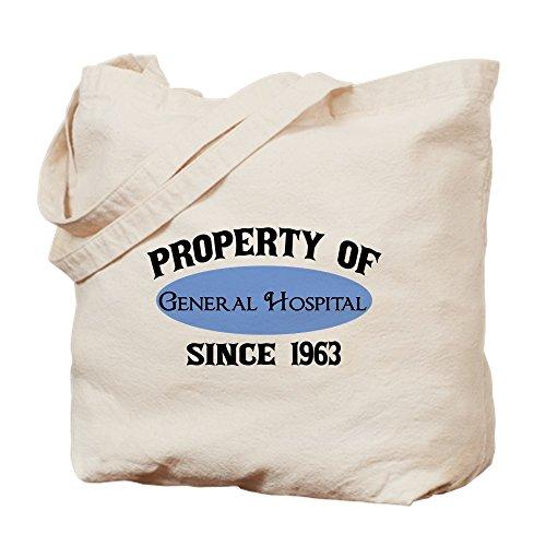 CafePress General Hospital Fan Natural Canvas Tote Bag, Cloth Shopping Bag