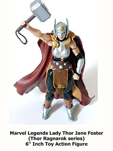Review  Marvel Legends Lady Thor Jane Foster  Thor Ragnarok Series  6  Inch Toy Action Figure