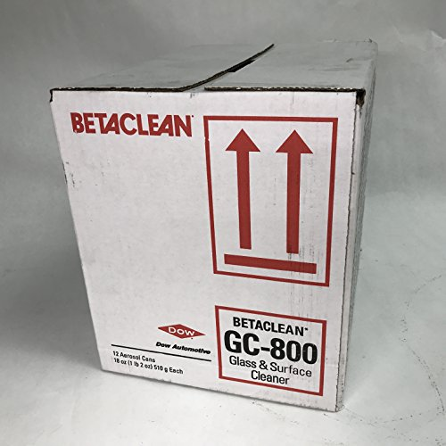 Dow Automotive GC800 Betaclean (Pack of - Gc Glass