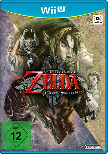 WiiU The Legend of Zelda: Twilight Princess HD (Zelda Twilight Princess Hd Wii U Amiibo)