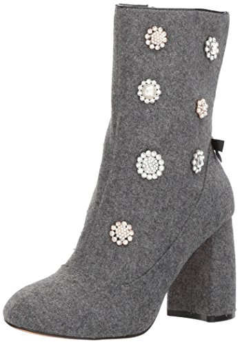 Nanette Lepore WoMen Linette Ankle Boot Grey