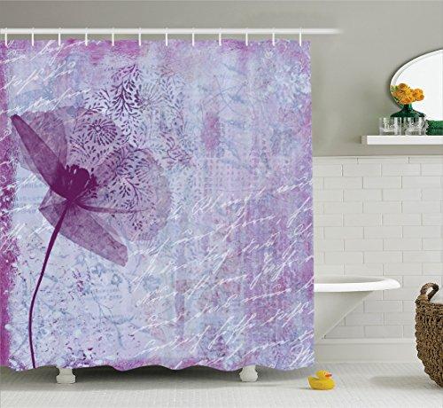 Curtain Ambesonne Artwork Bathroom Accessories