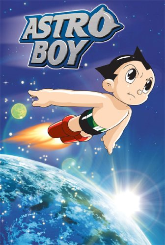 ASTRO BOY POSTER Flying in Space RARE HOT NEW