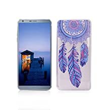 LG G6 Case TPU Rubber Cover OuDu Silicone Case for LG G6 Transparent Flexible Slim Case Smooth Lightweight Skin Ultra Thin Shell Anti-Scratch Anti-Shock Creative Design Cover Protective Bumper - Wind Chimes