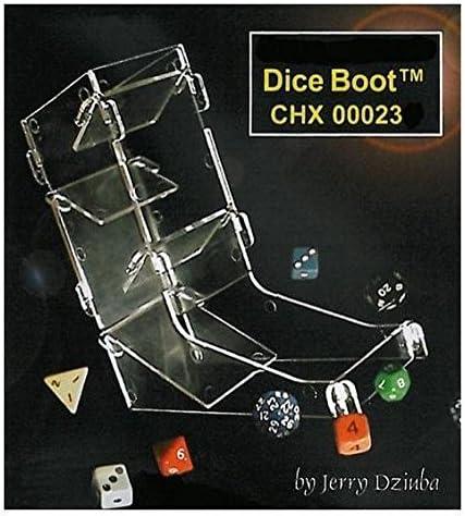Chessex W/ürfel-Turm transparent