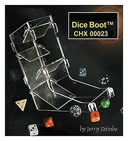 Amazon.com  Chessex Dice Boot Dice Tower - Clear  Toys   Games 16e4d55bdfe5