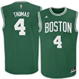 Isaiah Thomas Boston Celtics #4 Toddler Replica Green Away Jersey (4T)