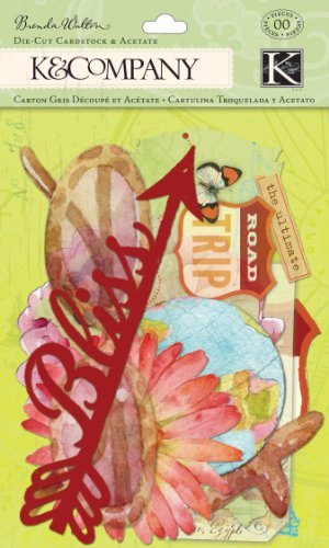 Acetate Die Cuts - K&Company Brenda Walton Around the World Die-Cut Cardstock and Acetate