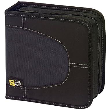 Case Logic CDW-32 32 Capacity Classic CD Wallet (Black)