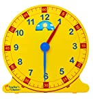 Learn-How-to-Tell-Time-Teaching-Clock--Large-12-Classroom-Demonstration-Night-and-Day-Learning-Clock