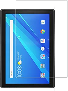 Zshion Screen Protector for Lenovo Tab 4 10 Inch ,9H Hardness Tempered Glass Screen Protector for Lenovo Tab 4 10 with Anti-fingerprint Bubble-Free Crystal Clear
