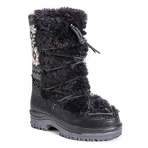 ak Snowboots Black 8 ()