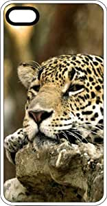 Sleeping Leopard Fast & Furious White Rubber Case for Apple iPhone 4 or iPhone 4s by Maris's Diary