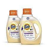Tide Purclean Liquid Laundry Detergent, Honey Lavender Scent, 100 Fl Oz (64 Loads)