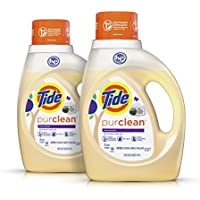 2-Pack Tide Purclean Plant-based Laundry Detergent, 64 loads