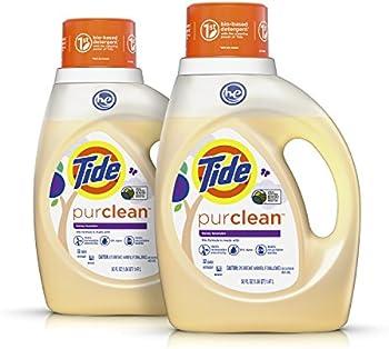 Tide Purclean Plant-based Laundry Detergent 2x50 oz. 64 loads