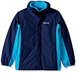 Marmot Boys Northshore Jacket, Arctic Navy/Bahama Blue, Medium