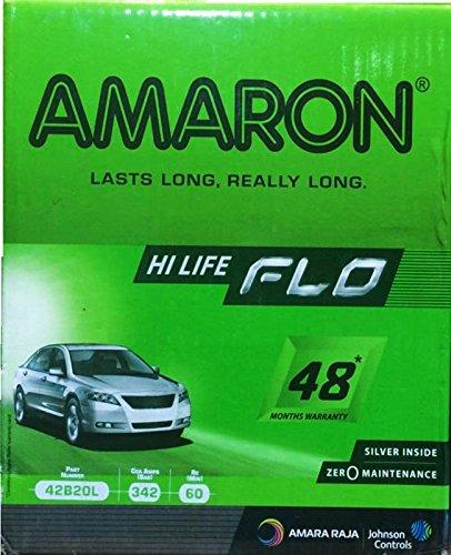 Amaron Silver Alloy 35 mAh Battery for Car