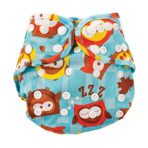 Diaper Cover - Bumkin - Owls Baby Accessories New ECS-240