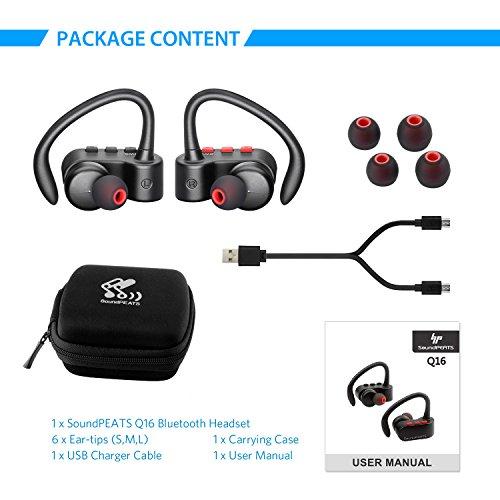 soundpeats wireless earbuds true wireless stereo bluetooth 4 2 headphones new ebay. Black Bedroom Furniture Sets. Home Design Ideas