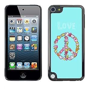 Dragon Case - FOR Apple iPod Touch 5 - Delays are dangerous - Caja protectora de pl??stico duro de la cubierta Dise?¡Ào Slim Fit