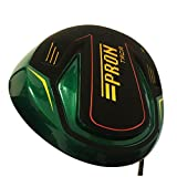 Japan Epron Titanium 10 Degree 460cc Driver USGA PGA Rules Golf Club+ Headcover(Regular Flex, 0.6 Grip)