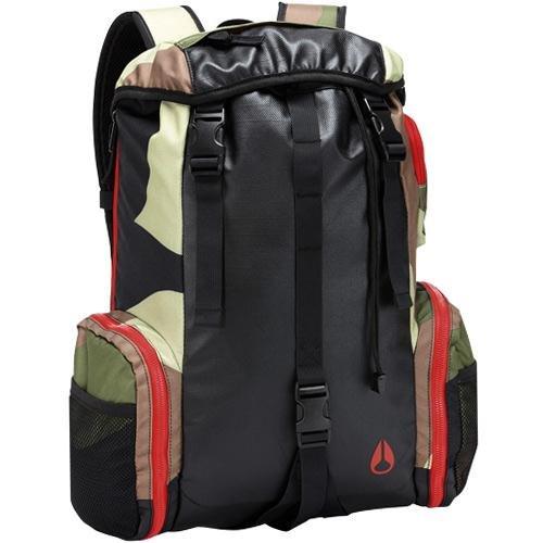 Nixon Waterlock II Backpack Woodland Camo, One Size, Outdoor Stuffs
