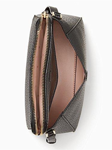 Carter crossbody Berrin Black Street Kate York Spade New leather Sxxn4Ttq