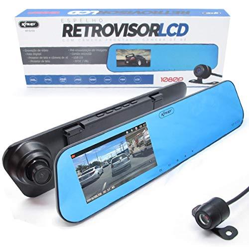 Retrovisor Câmera Knup Tela Frontal