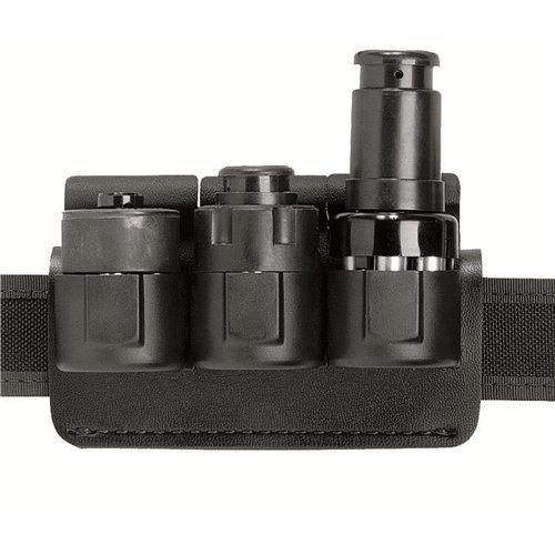 Safariland 333 Speedloader Holder Black, Plain for 1.75-Inch Belt Comp III