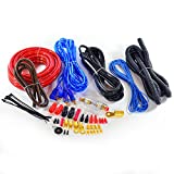 InstallerParts 2000W 4AWG Car Amplifier Hookup Kit