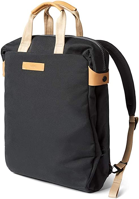 """Bellroy Duo Totepack (Convertible Backpack Tote, Fits 15"""" Laptops) - Charcoal"""