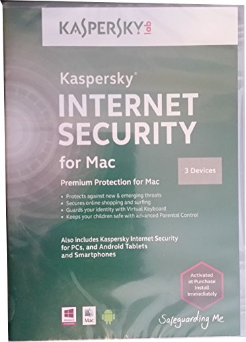 Kaspersky Internet Security for Pc and Mac 3 Devices by Kaspersky