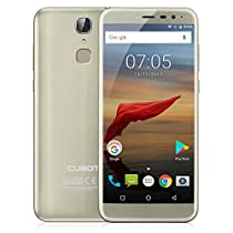 "CUBOT X18 Smartphone, 5.7 "" HD IPS Display (proporzione 18: 9) Android 7.0 4G Telefono Cellulari, MT6737T ,Quad-Core, 1.5GHz , 3GB RAM + 32GB ROM, 16.0MP AF+13.0MP Camera, Dual Sim, Fingerprint Scanner, WiFi, GPS, Bluetooth 4.0 Cellulare - Oro"