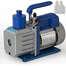 ARKSEN Electric 2-Stage Rotary Vane Deep 1/3HP 3CFM AC Vacuum Pump R410 R134 HVAC with (Free Oil)