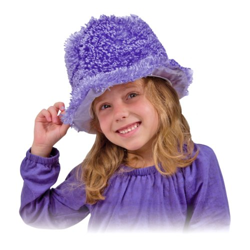 Melissa & Doug Terrific Toppers! Dress-Up Hats Role Play Costume Collection – 5 Fancy Headpieces
