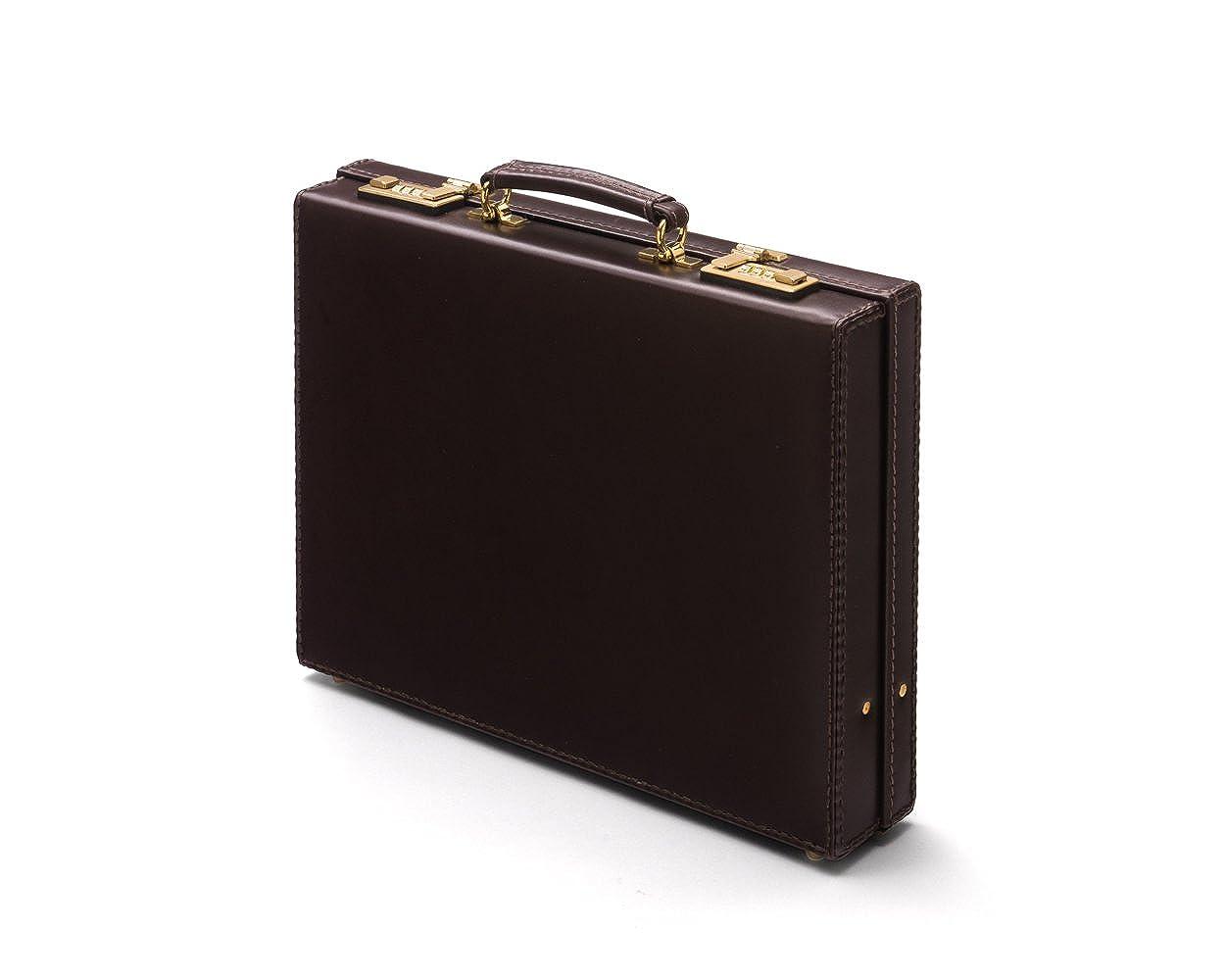 SAGEBROWN Brown Small Kensington Attache Briefcase  Amazon.co.uk  Clothing b6394eba89