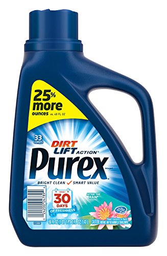Purex 04789 Liquid HE Detergent, After the Rain Scent, 50oz Bottle (Case of ()