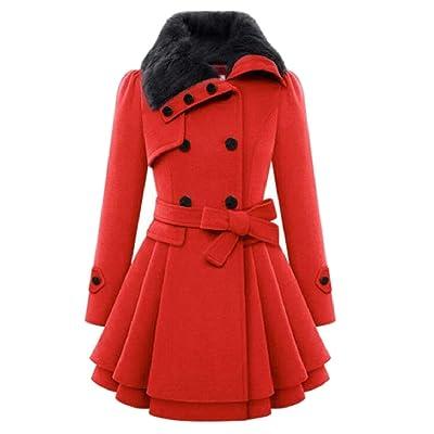 security - Chaqueta - para Mujer Rojo Rosso XXL: Ropa y accesorios