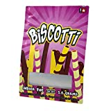 BISCOTTI Stickers & Mylar Barrier Bag - 3.5 GRAM - Heat Sealable - (Zip Lock Canna Bags, Billy Kimber, Paris OG) (50)