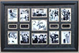 (I Love Lucy) Ultimate Photo Collage Featuring 11 Movie Photo's W/facsimile Autographs Professionally Matted an Framed to a 24x36 Finished Size