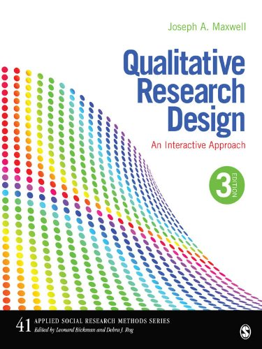 Download Qualitative Research Design: An Interactive Approach: 41 (Applied Social Research Methods) Pdf