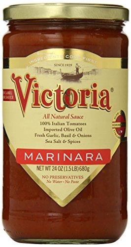 Victoria Marinara Sauce, 24 Ounce (Gluten Free Tomato Sauce)
