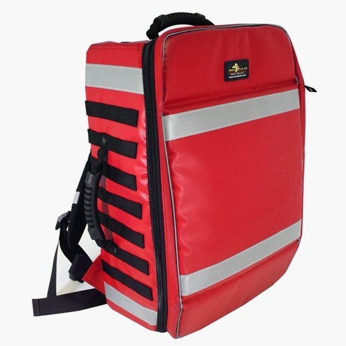 Image of Bags & Baskets Iron Duck 32501-RDUP- Complete CORE1 Customizable Emergency Response System with Master Case, Trauma Module, Removable Panel/Page, Red Universal Precautions (UP) Material