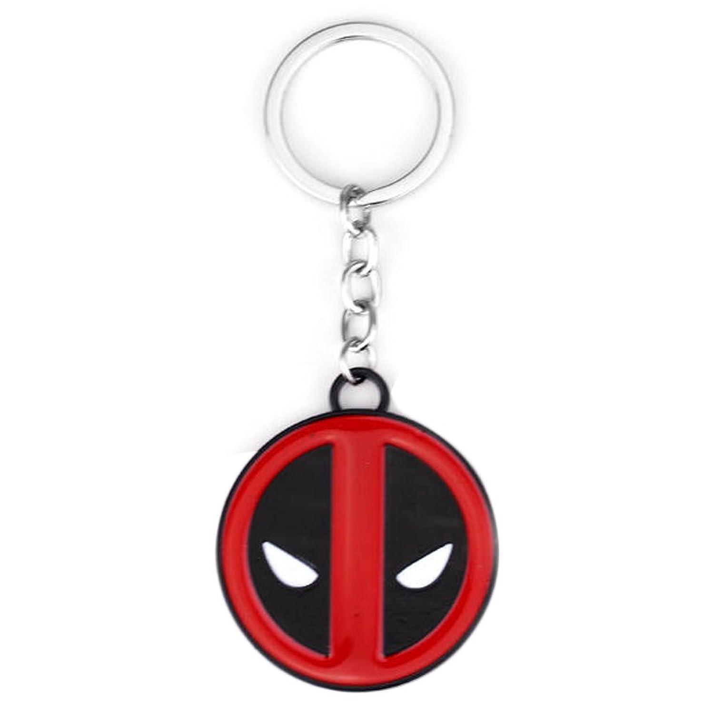 Key Chain ~ Deadpool Keychain Key Ring (G2-1-117)