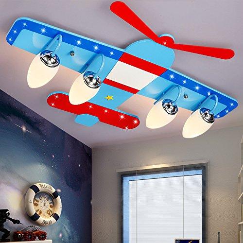 JJ Moderne LED Deckenleuchte Kinderzimmer Deckenleuchte jungen ...