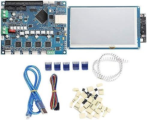RETYLY 3D Kit de Impresora Duet Panel de Control Ethernet Pantalla ...