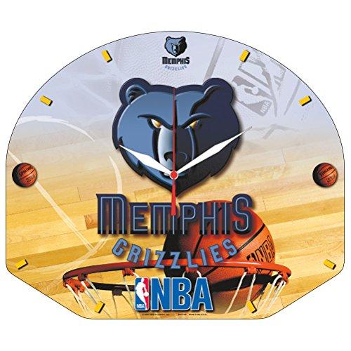 (Wincraft NBA Memphis Grizzlies High Definition Plaque Clock)