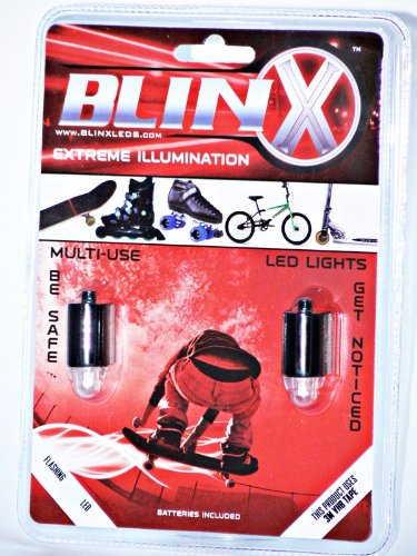 BlinX Action Sports LED's: Red