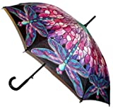 Galleria Tiffany Dragonfly Auto Stick Umbrella (Tiffany Dragonfly)